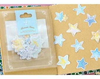 Star Romantic Seal Stickers
