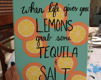 Tequila Canvas