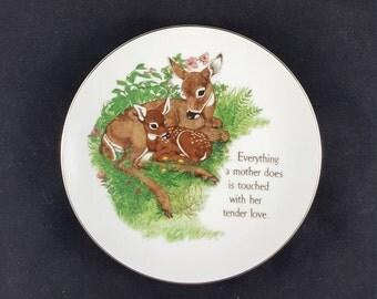 "An L.K. Powell Design ""Lasting Memories"" Decorative Plate"