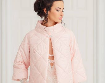 Bridal bolero | Wedding Bolero | wedding coat | Bridal jacket| Pink bolero | Wedding jacket | Bridal Coat | Pink jacket | Bridal cape Madina