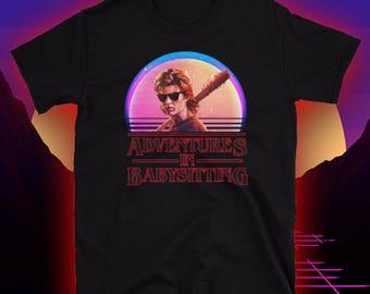 Steve Harrington / Stranger Things Shirt / Steve The Babysitter / Adventures in Babysitting / Short-Sleeve Unisex T-Shirt