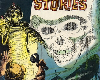 Ghost Stories #35 FN 1973 Dell