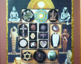 Many Paths - Collage of many spiritual paths