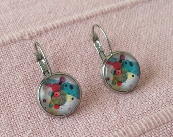 Allergy Free Earrings Kandinsky Earrings