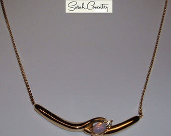 ANTIQUE Sarah Coventry Jewelry - Haarlequin Choker  #8362