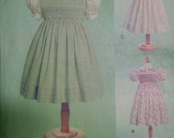 Teresa Layman Designs 7435 Girl's Smocked Dress Pattern