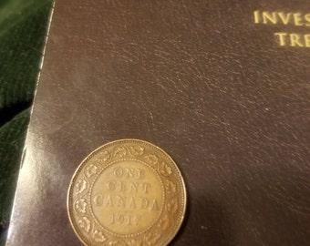 COIN CANADA 1917 1 Cent