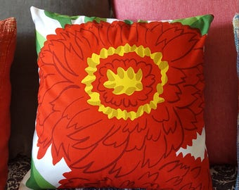 Cute summery Marimekko pillow cover
