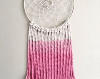 Dip Dyed Dreamcatcher