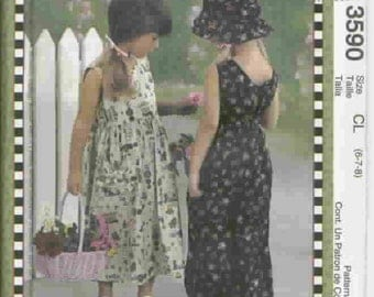 New McCall's Easy Pattern 3590   Sizes 3-4-5