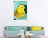Bird Artwork Print, Natur...