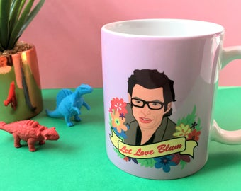 Let Love Blum - Jeff Goldblum Mug