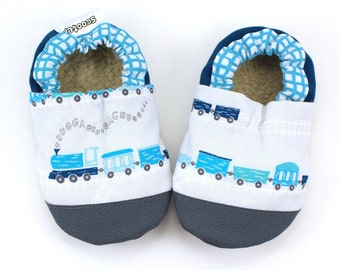 train shoes baby boy shoes with trains rubber sole shoes rubber toes toddler train slippers soft sole shoes vegan baby moccs choo choo train
