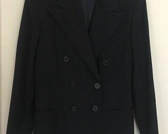Vintage Ralph Lauren Double Breasted Wool Blazer