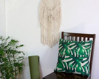 Large Bohemian Wall Hanging / Macrame Wall Hanging / Macrame Decor