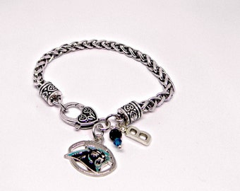 Panthers Jewelry, Carolina Panthers, Panthers Bracelet, Football Jewelry, Football Mom, Panthers Fan Wear, Panthers Football, Panthers Home