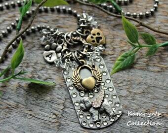 Bichon Frise Angel Necklace, Bichon Necklace, Bichon Memorial, Bichon Mom, Bichon Jewelry