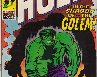 The Incredible Hulk #134 -December 1970 -Marvel Comics - Grade Fine