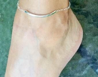 Silver anklet, Sterling silver anklet, ankle bracelet, silver anklet, women's anklet, anklet