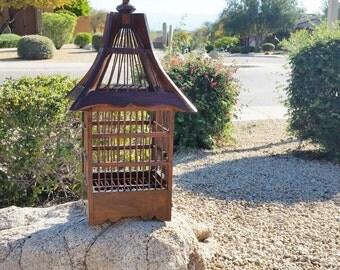 Bird Cage, Bird Cage Card Holder, Asian Bird Cage, Decorative Bird Cage