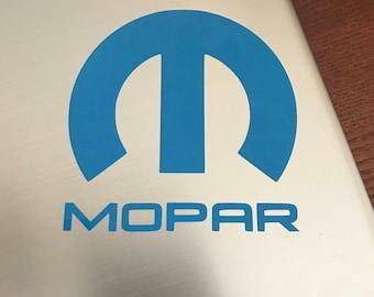 MOPAR vinyl decal sticker Dodge SRT SRT4 SRT8 Hellcat Challenger Neon Viper Hemi Charger Ram gifts