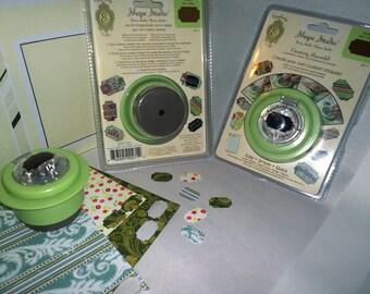 Ticket Shape Punch Epiphany Crafts Shape Studio scrapbooking jewelry making card embelishment embelishments papercrafts paper crafts