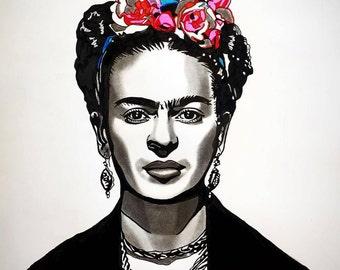 SOLD Frida Kahlo (Original Artwork)