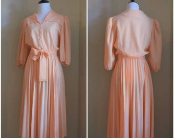 70's Dress, Vintage Dress, 1970's, Vintage IFI dress, Made in USA, Vintage dresses, 70s clothes, gift for her, retro