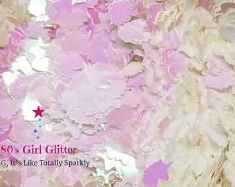 80s Girl Glitter