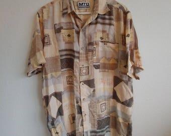 Vintage Sand Dress Shirt