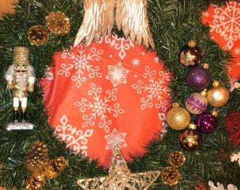 Gold and purple scheme wreath