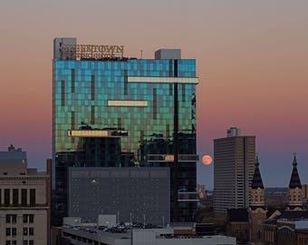 Greektown Casino & The Supermoon October 2016: Detroit, MI