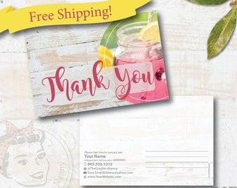 plexus Thank You postcard, CUSTOM plexus postcard, plexus swag - Free Shipping