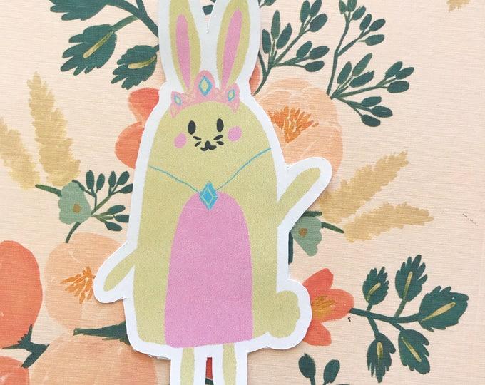 Princess Bunny Die Cut
