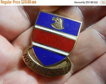 Summer Sale Vintage WW2 326th Engineer Battalion Unit Insignia