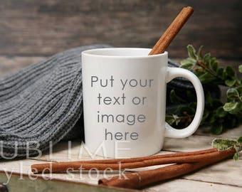 Mug Mockup / Blank Mug / Product Styling / Cup Mockup / Styled Mug / Styled Stock Photography / Coffee Cup / Background / StockStyle-878