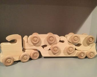 Wooden car hauler