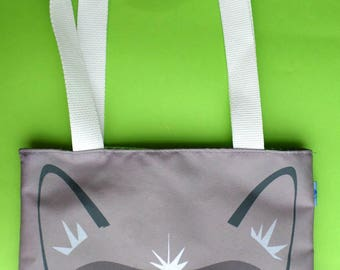 Cute Grumpy Cat Mini Tote Bag