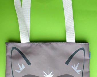 Cute Grumpy Cat Mini Tote Bag