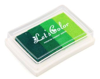 pad green gradient scrapbooking
