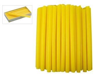 1 Lb Bulk Box of Yellow Sprue Wax 9.0 mm Jewelry Pattern Making Investment Wax - WAX-312.04