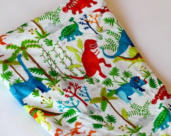 Ready to Ship! Dinosaur Fitted Crib Sheet