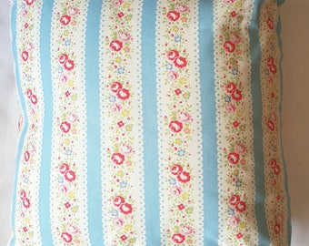 Blue Stripe Cath Kidston Cushion Cover