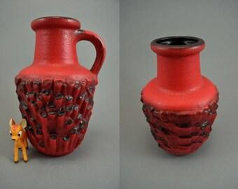 Vintage vase / Carstens Tönnieshof / Decor Basalt / 7587 25 | West Germany | WGP | 60s