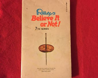 Ripley's Belive It Or Not! 7th Series Paperback