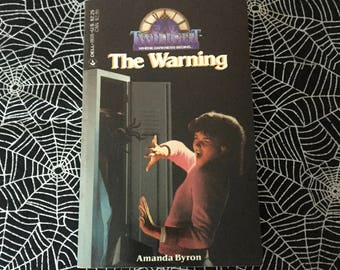 THE WARNING (Twilight #23 Young Adult Paperback by Amanda Byron)