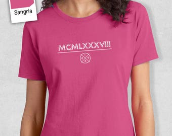 30th Birthday, 1988 Birthday, 30th Birthday Idea, 30th Birthday Gift. 1988 Birthday, 30th Birthday Shirt, Women's Crew Neck!