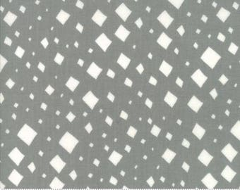 SALE!! 1 Yard Savannah by Gingiber for Moda- 48223-14 Diamonds Pewter