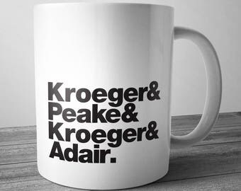 Nickelback Rock Band Mug