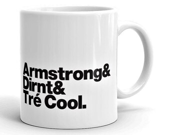 Green Day Rock Band Mug